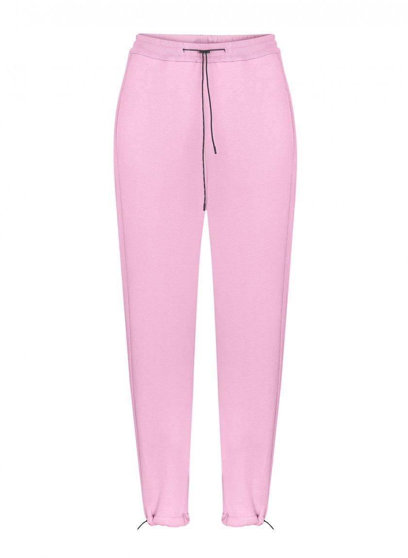 Хлопковые брюки на кулиске SAYYA_FW1092-2, фото 1 - в интернет магазине KAPSULA