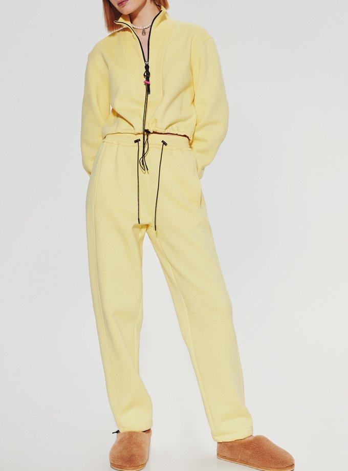Хлопковые брюки на кулиске SAYYA_FW1092-4, фото 1 - в интеренет магазине KAPSULA