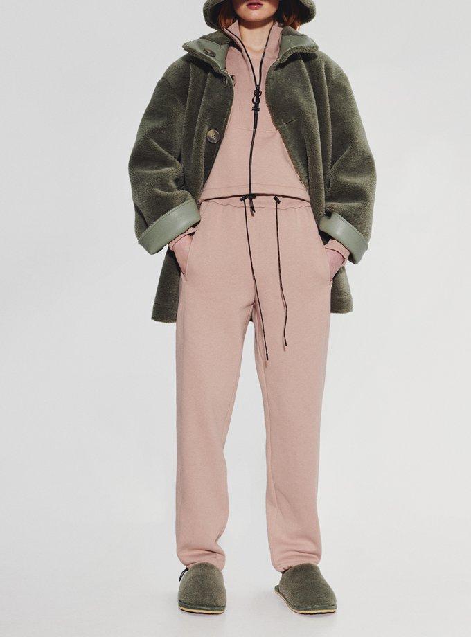 Хлопковые брюки на кулиске SAYYA_FW1092, фото 1 - в интернет магазине KAPSULA