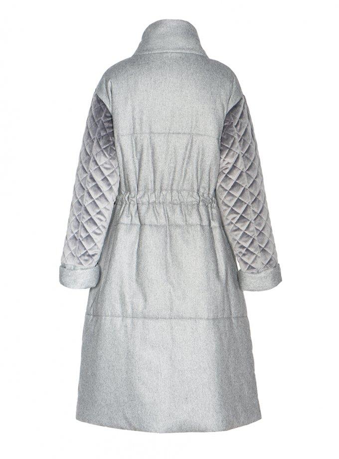 Пальто-пуховик из шерсти INS_FW2021_1, фото 1 - в интернет магазине KAPSULA