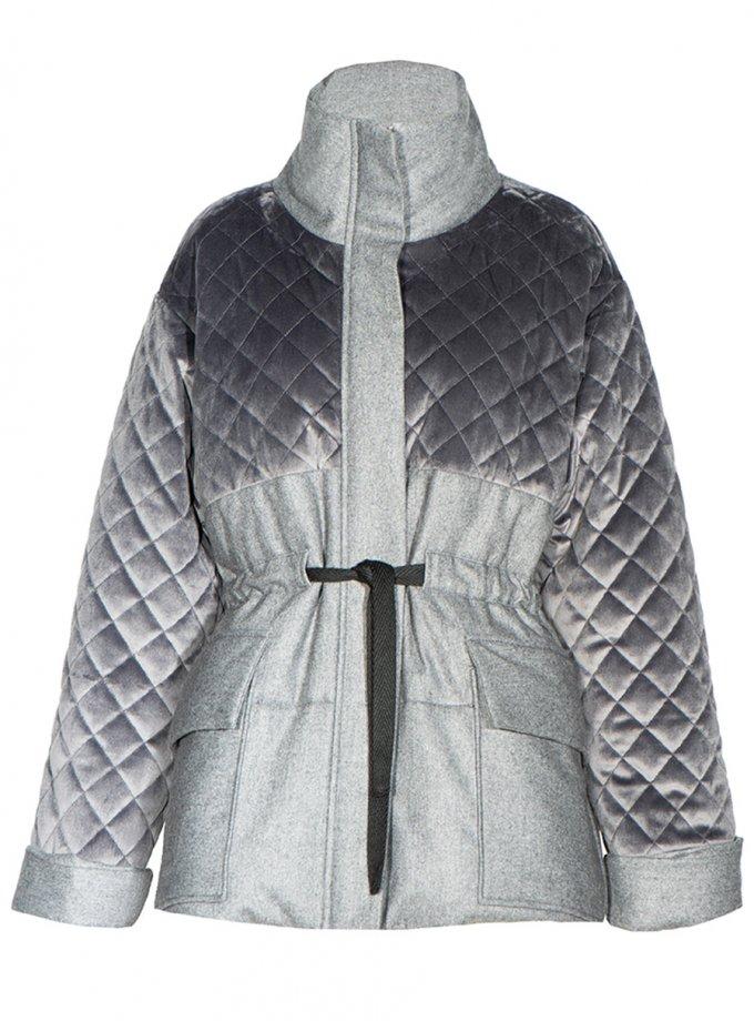 Укороченный пальто-пуховик из шерсти INS_FW2021_2, фото 1 - в интеренет магазине KAPSULA