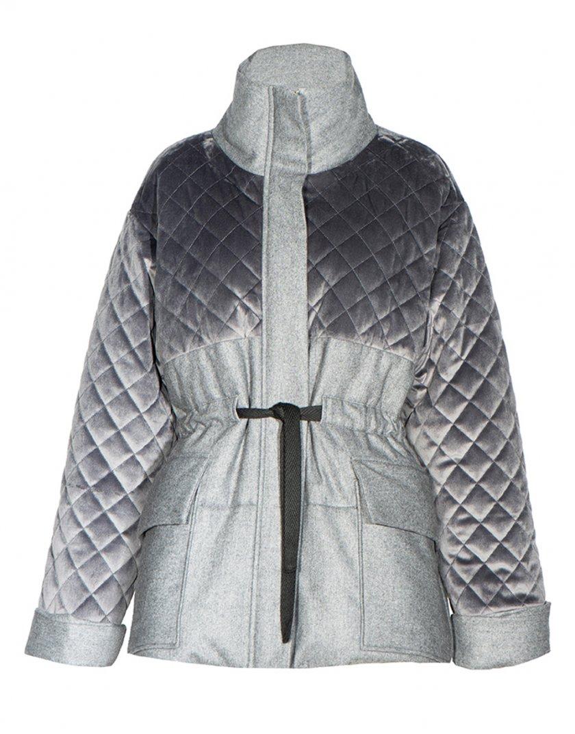 Укороченный пальто-пуховик из шерсти INS_FW2021_2, фото 1 - в интернет магазине KAPSULA