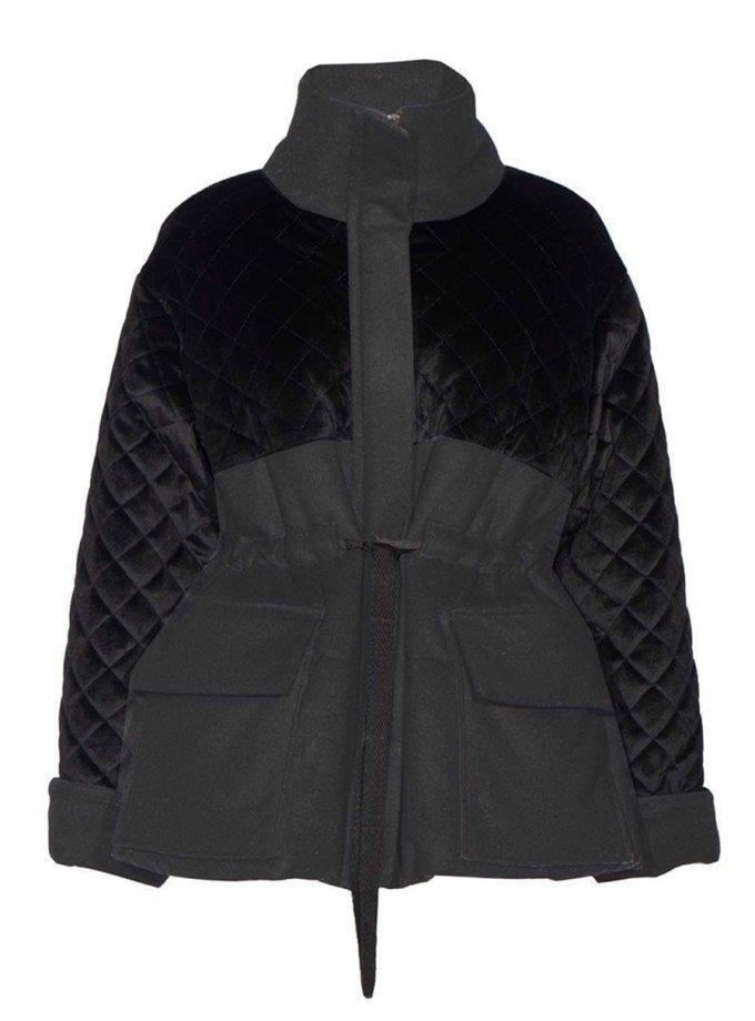 Укороченный пальто-пуховик из шерсти INS_FW2021_4, фото 1 - в интеренет магазине KAPSULA