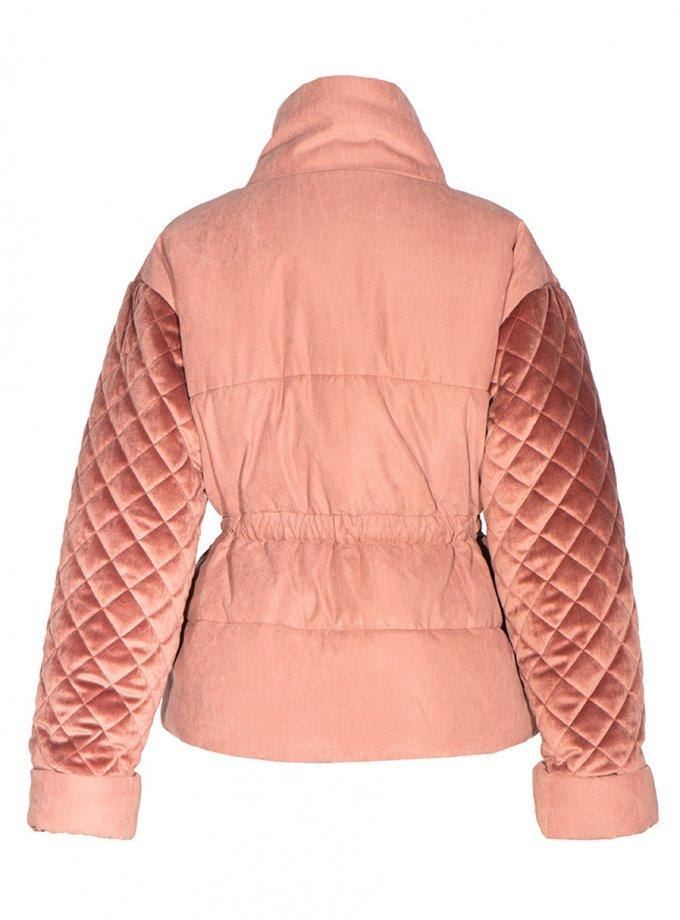 Укороченный пальто-пуховик INS_FW2021_6, фото 1 - в интеренет магазине KAPSULA