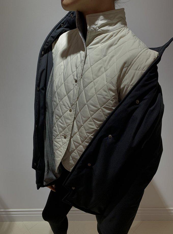 Стеганный жилет на кнопках IR_FW20_WV_021, фото 1 - в интеренет магазине KAPSULA