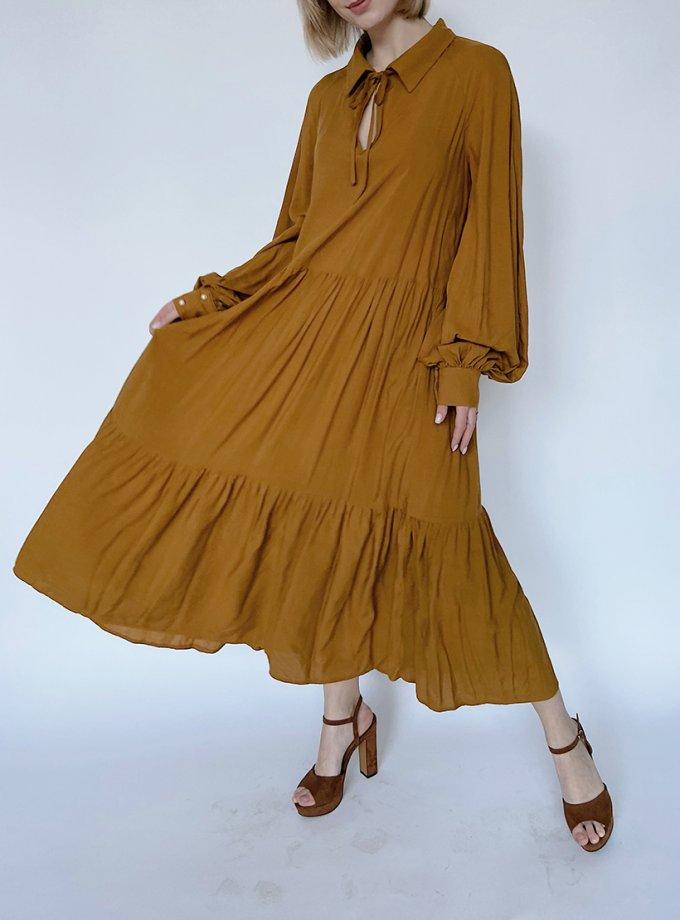 Платье свободного кроя из хлопка WN_AIM18, фото 1 - в интеренет магазине KAPSULA