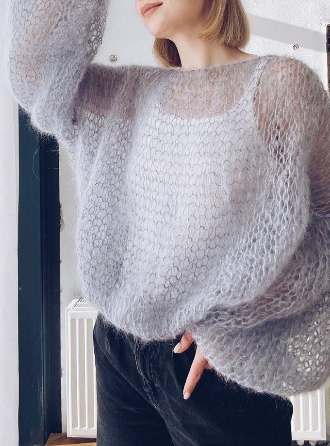 Объемный свитер из мохера WN_AIM20, фото 1 - в интернет магазине KAPSULA