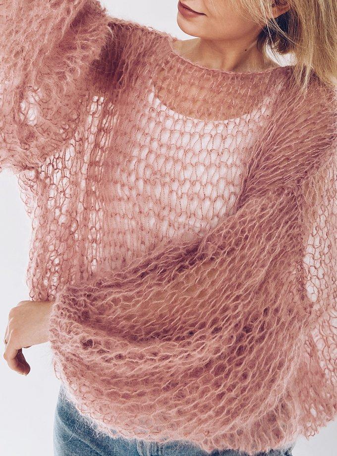Объемный свитер из мохера WN_AIM19, фото 1 - в интеренет магазине KAPSULA