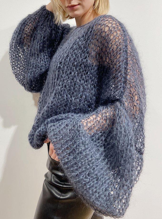 Объемный свитер из мохера WN_AIM21, фото 1 - в интернет магазине KAPSULA