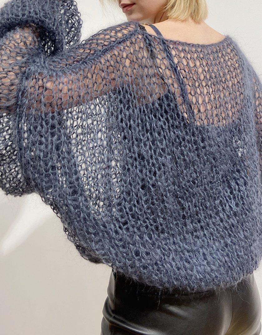 Объемный свитер из мохера WN_AIM21, фото 1 - в интеренет магазине KAPSULA