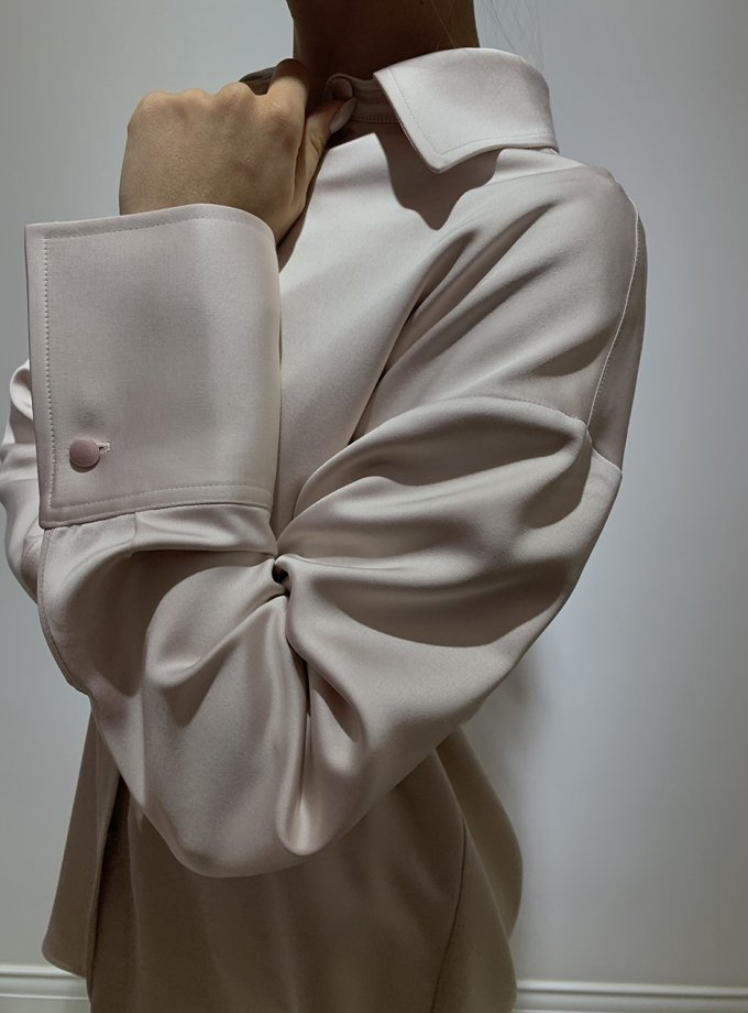 Рубашка с широкими манжетами IR_FW20_SV_034, фото 1 - в интеренет магазине KAPSULA