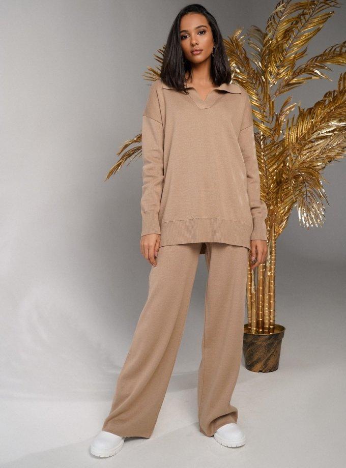 Костюм Paloma со свитером-поло JDW_JD0212, фото 1 - в интеренет магазине KAPSULA