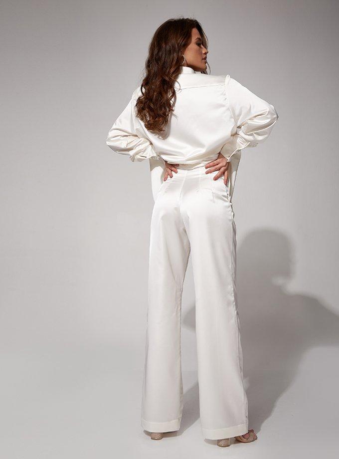 Сатиновый костюм Berta MC_MY4021-1, фото 1 - в интеренет магазине KAPSULA
