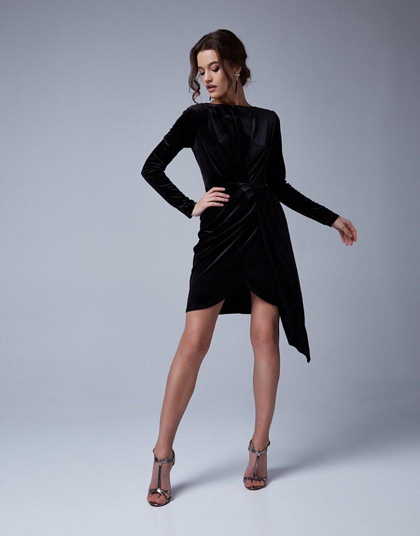 Бархатное платье Loren MC_MY4330, фото 1 - в интеренет магазине KAPSULA