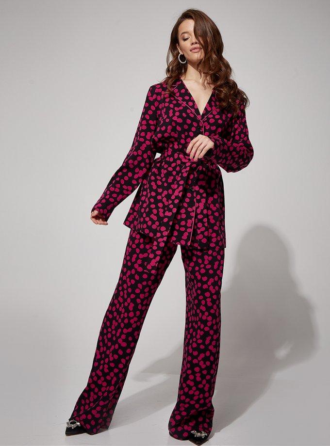Костюм в пижамном стиле Reina MC_MY4221, фото 1 - в интернет магазине KAPSULA