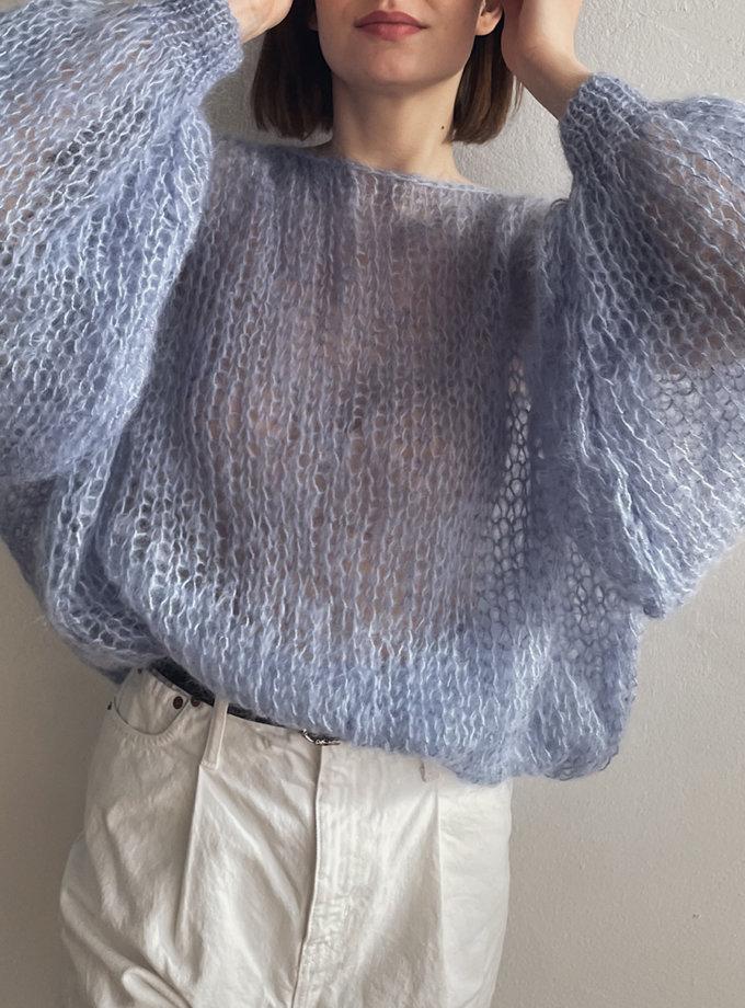 Объемный свитер из мохера WN_AIM-27, фото 1 - в интернет магазине KAPSULA