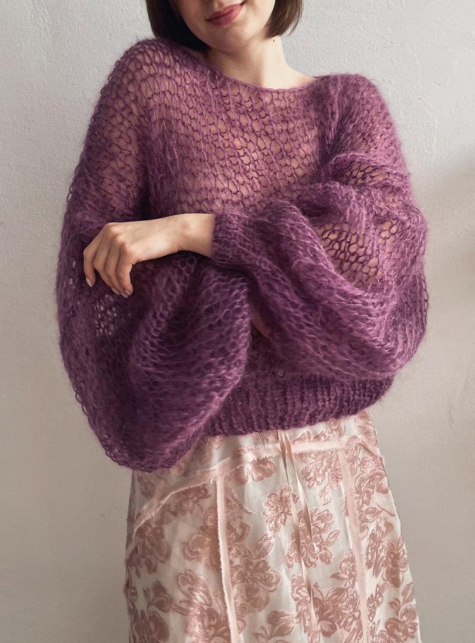 Объемный свитер из мохера WN_AIM-28, фото 1 - в интеренет магазине KAPSULA