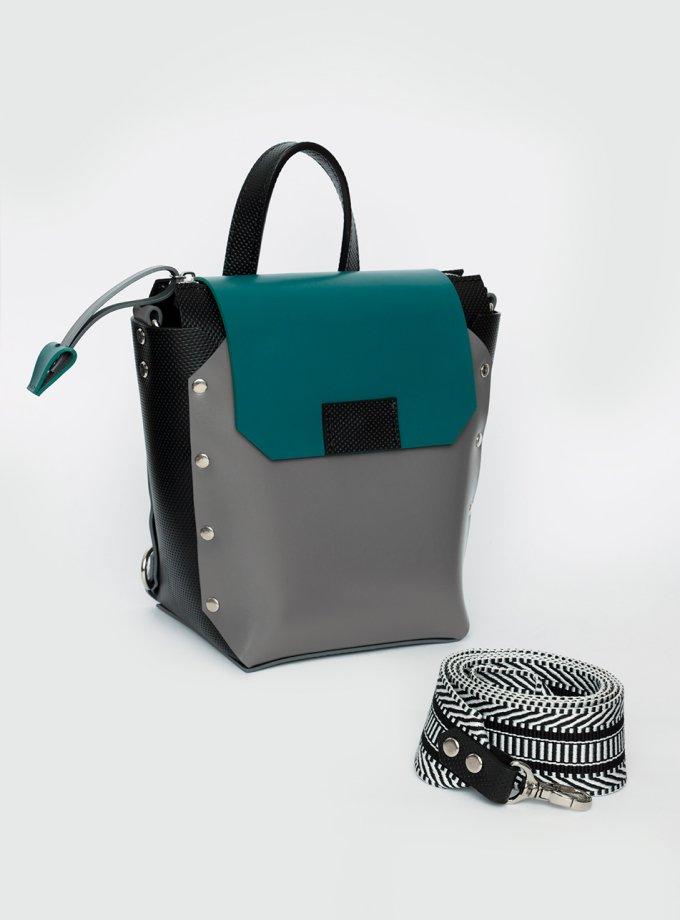 Рюкзак из натуральной кожи Adara VIS_Adara-backpack-008, фото 1 - в интеренет магазине KAPSULA
