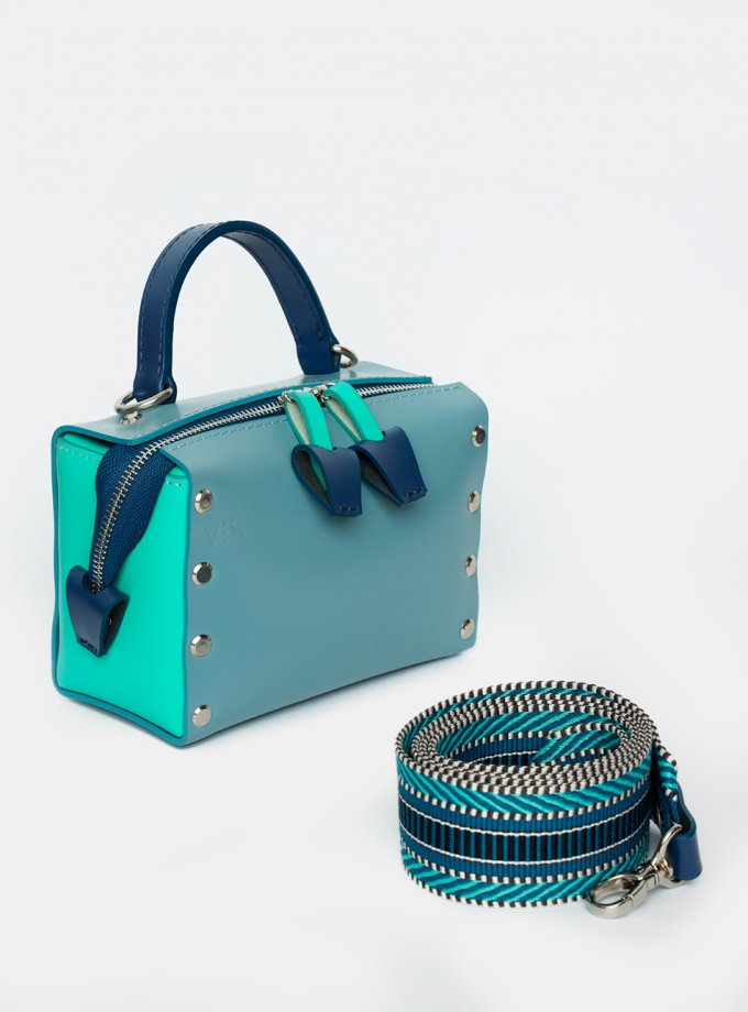 Кожаная сумка на молнии Antares VIS_Antares-zipper-001, фото 1 - в интеренет магазине KAPSULA
