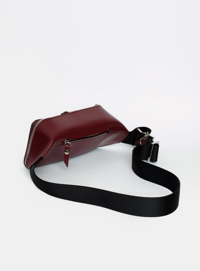 Сумка на пояс из кожи VIS_Belt-bag-002, фото 1 - в интеренет магазине KAPSULA