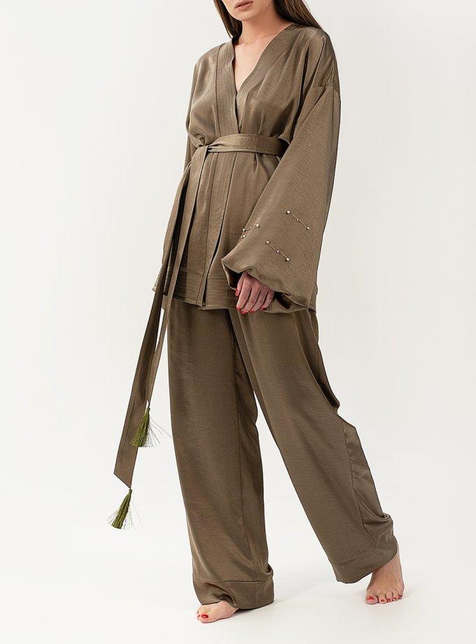 Струящийся костюм из сатина WNDR_resort_2so_01, фото 1 - в интернет магазине KAPSULA