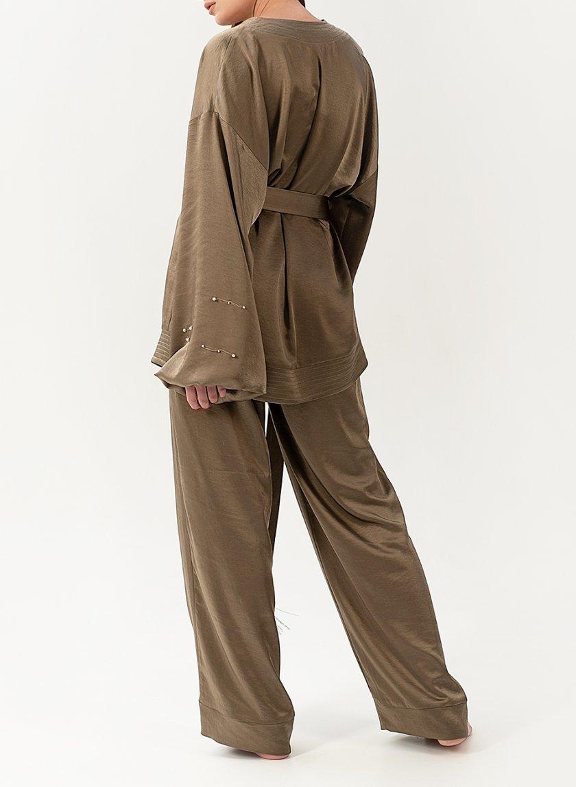 Струящийся костюм из сатина WNDR_resort_2so_01, фото 1 - в интеренет магазине KAPSULA