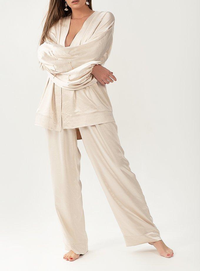 Струящийся костюм из сатина WNDR_resort_2sm_01, фото 1 - в интеренет магазине KAPSULA