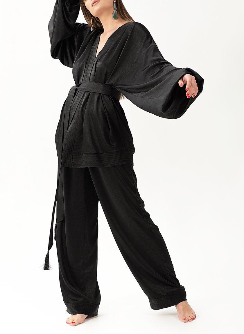 Струящийся костюм из сатина WNDR_resort_2sb_01, фото 1 - в интеренет магазине KAPSULA