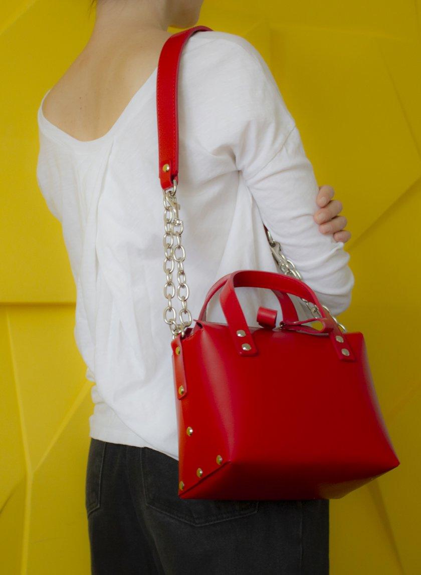 Сумка Doris из натуральной кожи VIS_Doris-bag-003, фото 1 - в интернет магазине KAPSULA