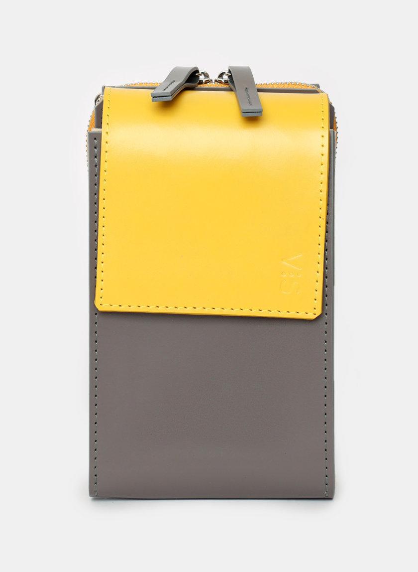 Кожаная сумка Eklipse VIS_Eklipse-bag-002, фото 1 - в интернет магазине KAPSULA