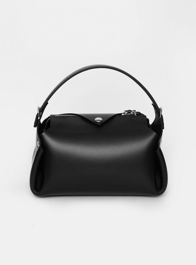 Кожаная сумка Hoshi M Black VIS_Hoshi-bag-М-002, фото 1 - в интеренет магазине KAPSULA