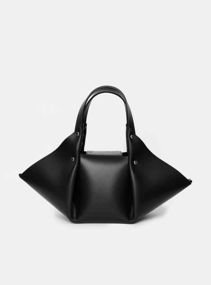 Шоппер Hoshi Black из натуральной кожи VIS_Hoshi-shopper-002, фото 1 - в интеренет магазине KAPSULA