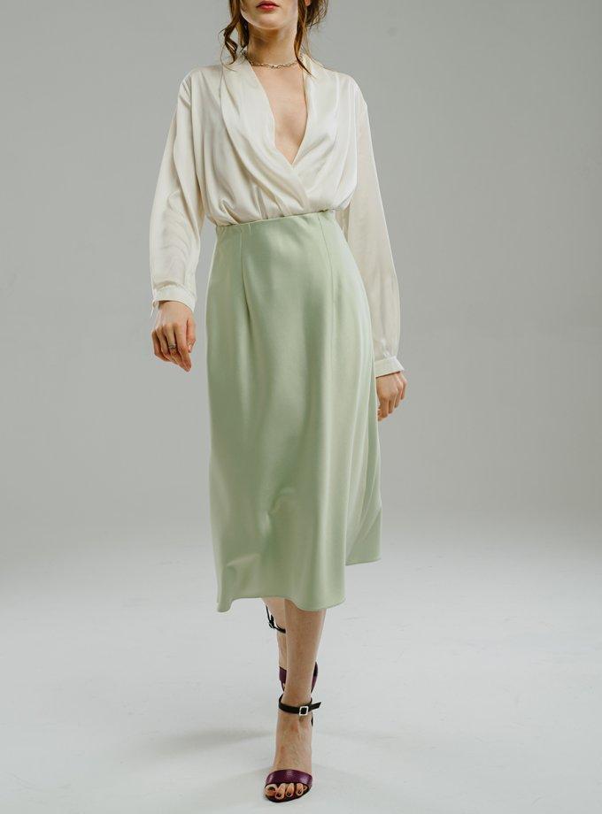 Сатиновая юбка миди MNTK_MTS2101, фото 1 - в интеренет магазине KAPSULA