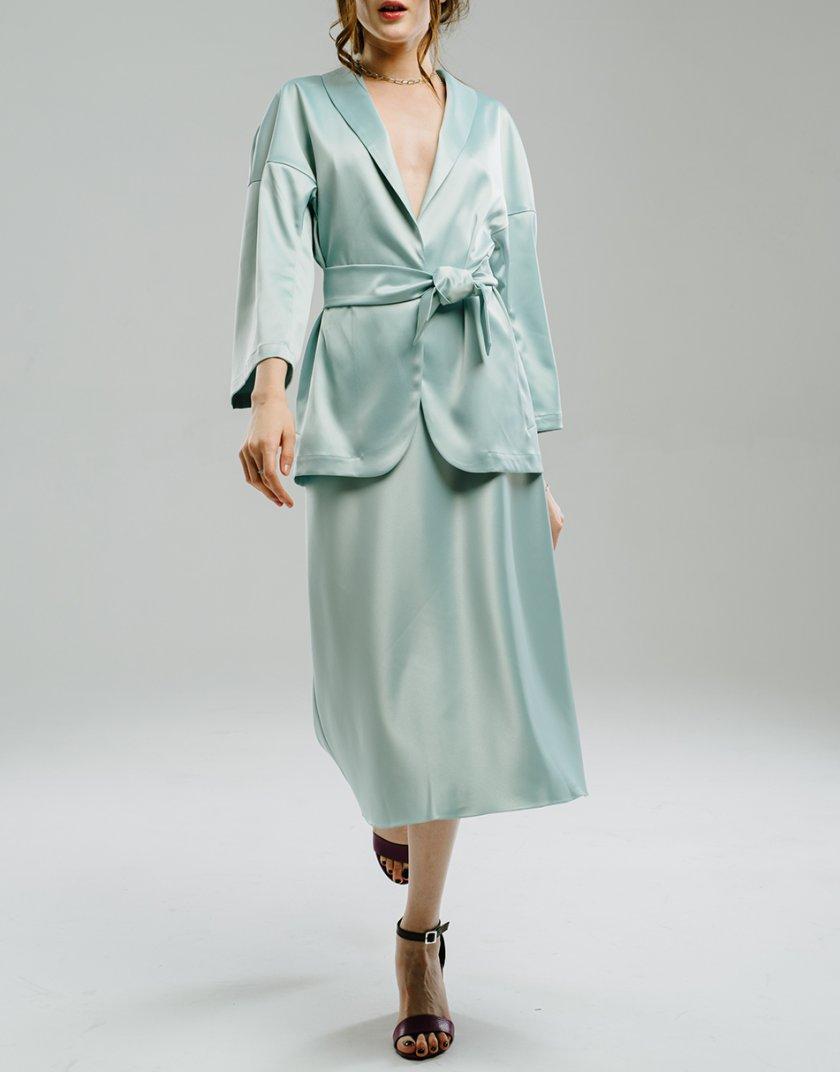 Сатиновая юбка миди MNTK_MTS2102, фото 1 - в интеренет магазине KAPSULA