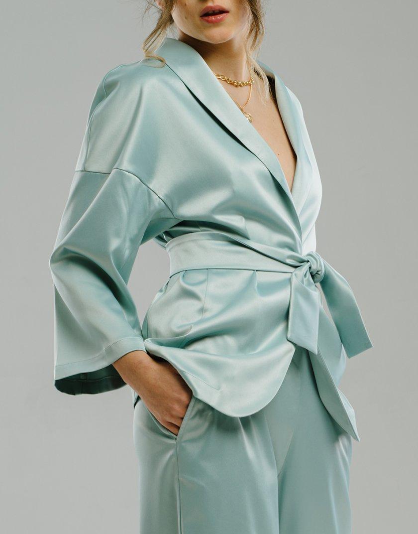 Жакет-кимоно с поясом MNTK_MTS2105, фото 1 - в интернет магазине KAPSULA