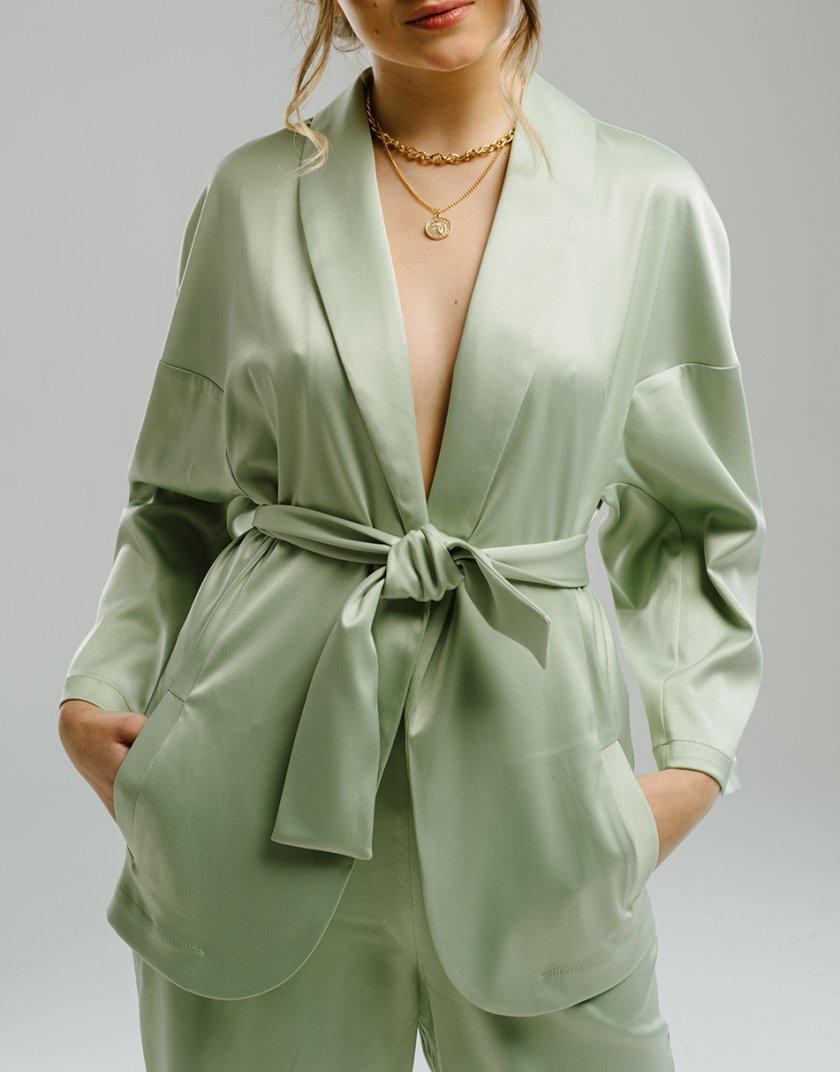 Жакет-кимоно с поясом MNTK_MTS2106, фото 1 - в интеренет магазине KAPSULA