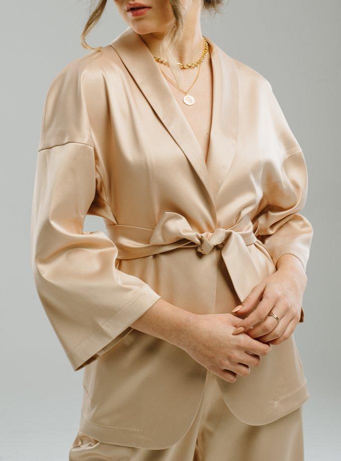 Жакет-кимоно с поясом MNTK_MTS2107, фото 1 - в интеренет магазине KAPSULA