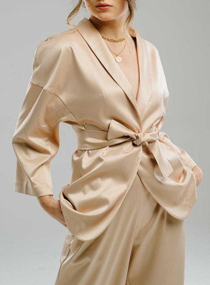 Жакет-кимоно с поясом MNTK_MTS2107, фото 1 - в интернет магазине KAPSULA