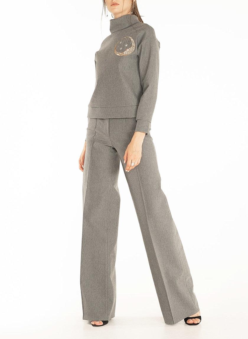 Трикотажный комплект с вышивкой WNDR_ fw2021_sgrey_12, фото 1 - в интеренет магазине KAPSULA