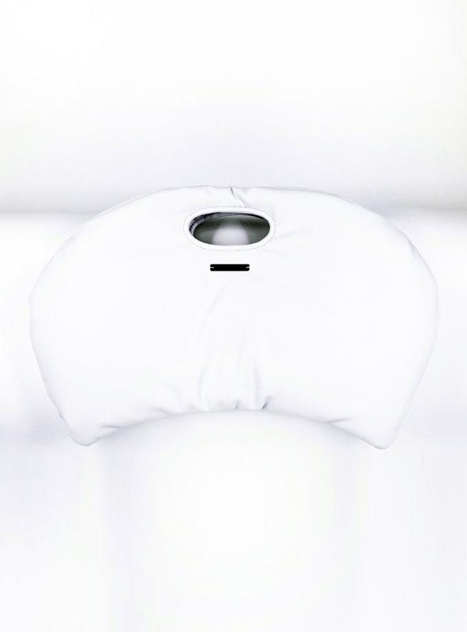 Сумка DUMPLING из эко-кожи SE_SE18_Bg_Dmpl_W, фото 1 - в интернет магазине KAPSULA