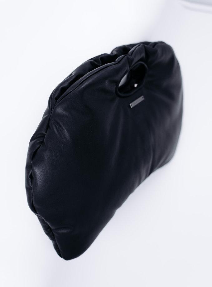 Сумка DUMPLING из эко-кожи SE_SE18_Bg_Dmpl_B, фото 1 - в интернет магазине KAPSULA