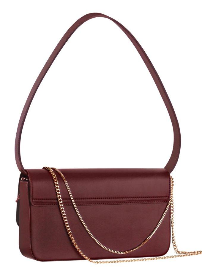 Кожаная сумка IRRO_IR_SS20_BO_ burgundy, фото 1 - в интеренет магазине KAPSULA