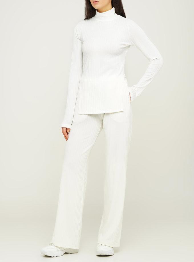 Свободные брюки из хлопка AY_3118, фото 1 - в интернет магазине KAPSULA