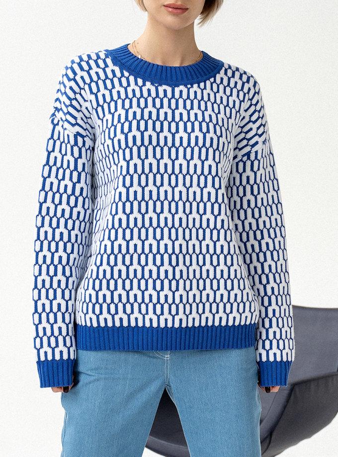 Хлопковый свитер JDW_J.D.2801, фото 1 - в интеренет магазине KAPSULA