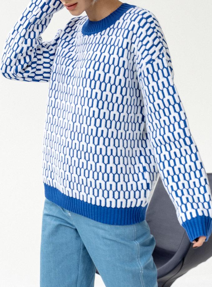 Хлопковый свитер JDW_J.D.2801, фото 1 - в интернет магазине KAPSULA