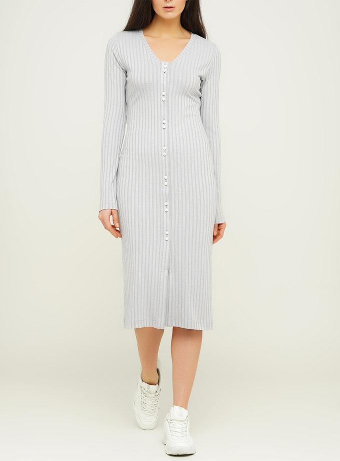 Платье с V-вырезом AY_3122, фото 1 - в интернет магазине KAPSULA
