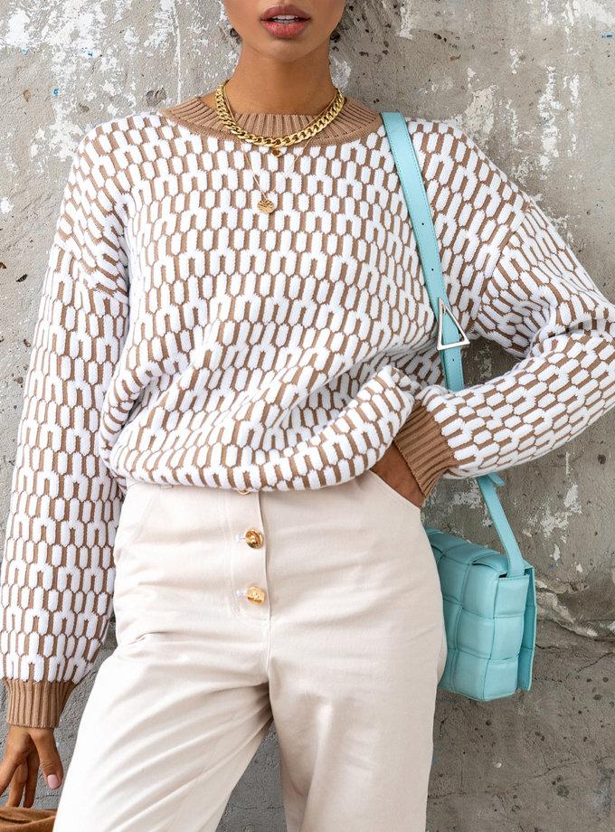 Хлопковый свитер JDW_J.D.2901, фото 1 - в интернет магазине KAPSULA