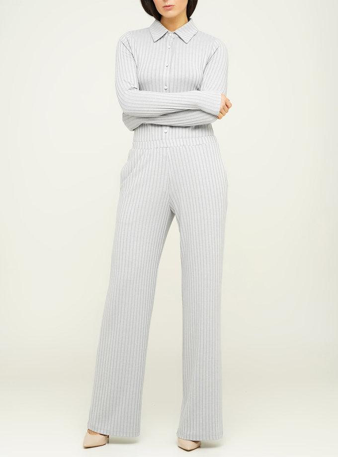 Свободные брюки из хлопка AY_3124, фото 1 - в интеренет магазине KAPSULA