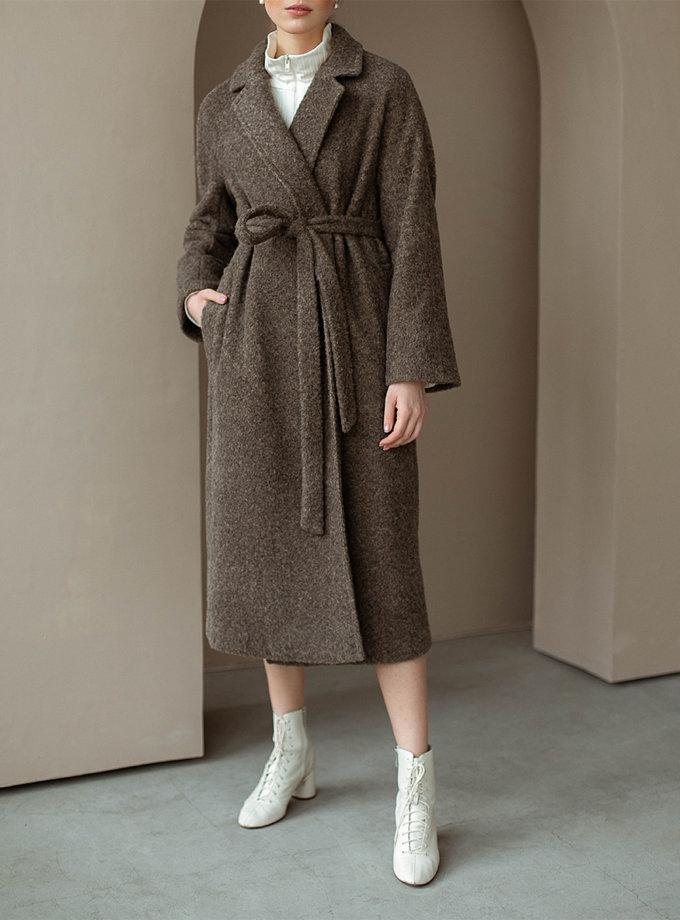 Пальто oversize из шерсти AY_3113, фото 1 - в интеренет магазине KAPSULA