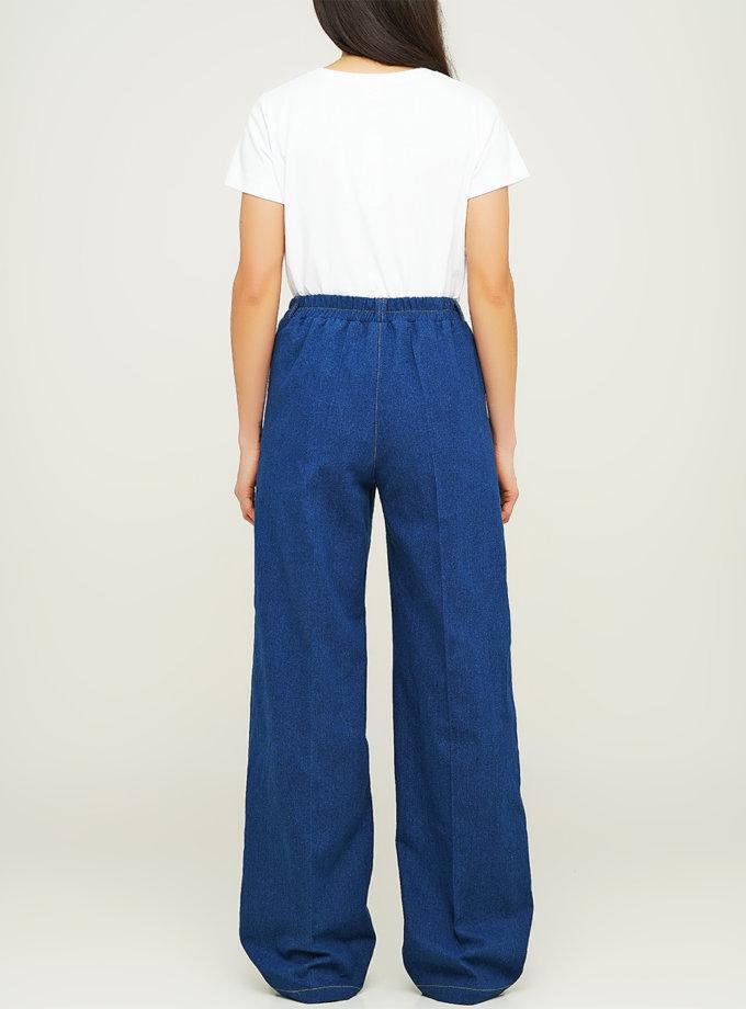 Свободные джинсы с карманами AY_3116, фото 1 - в интернет магазине KAPSULA